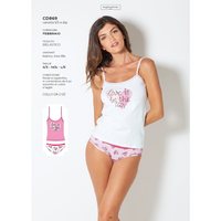 COMPLETO INTIMO DONNA S/S CD869
