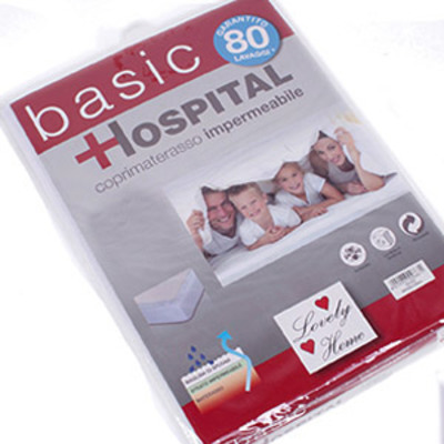 MATTRESS COVER 2P HOSPITAL BASIC IMPERM